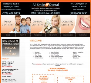 Dentist Website & Logo