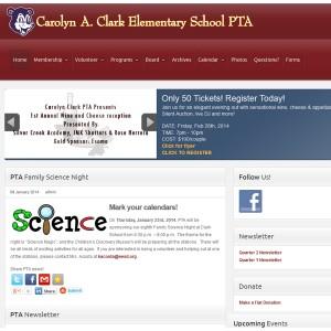 Clark PTA website