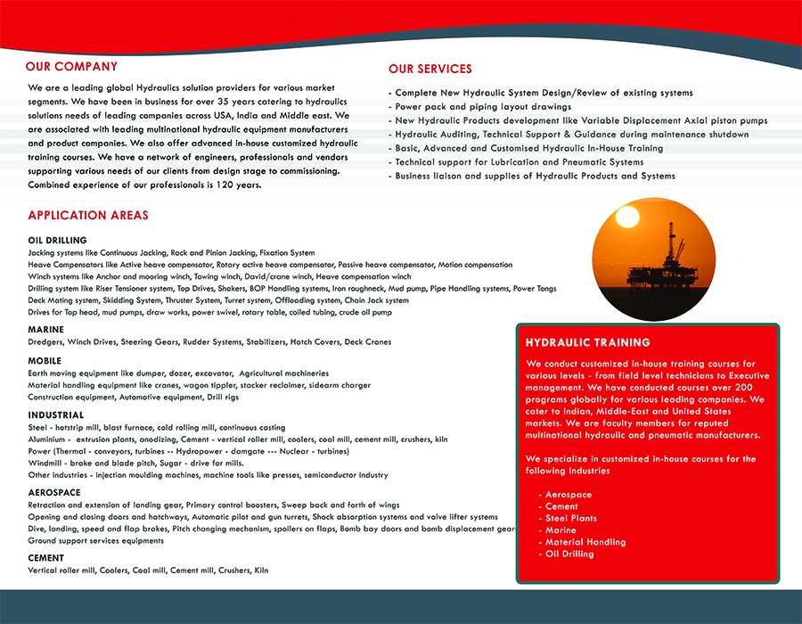 Brochure - Inside Cover