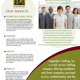Marketing for Staffing Company
