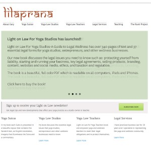 Yoga Sutras, Yoga Law, Legal Services