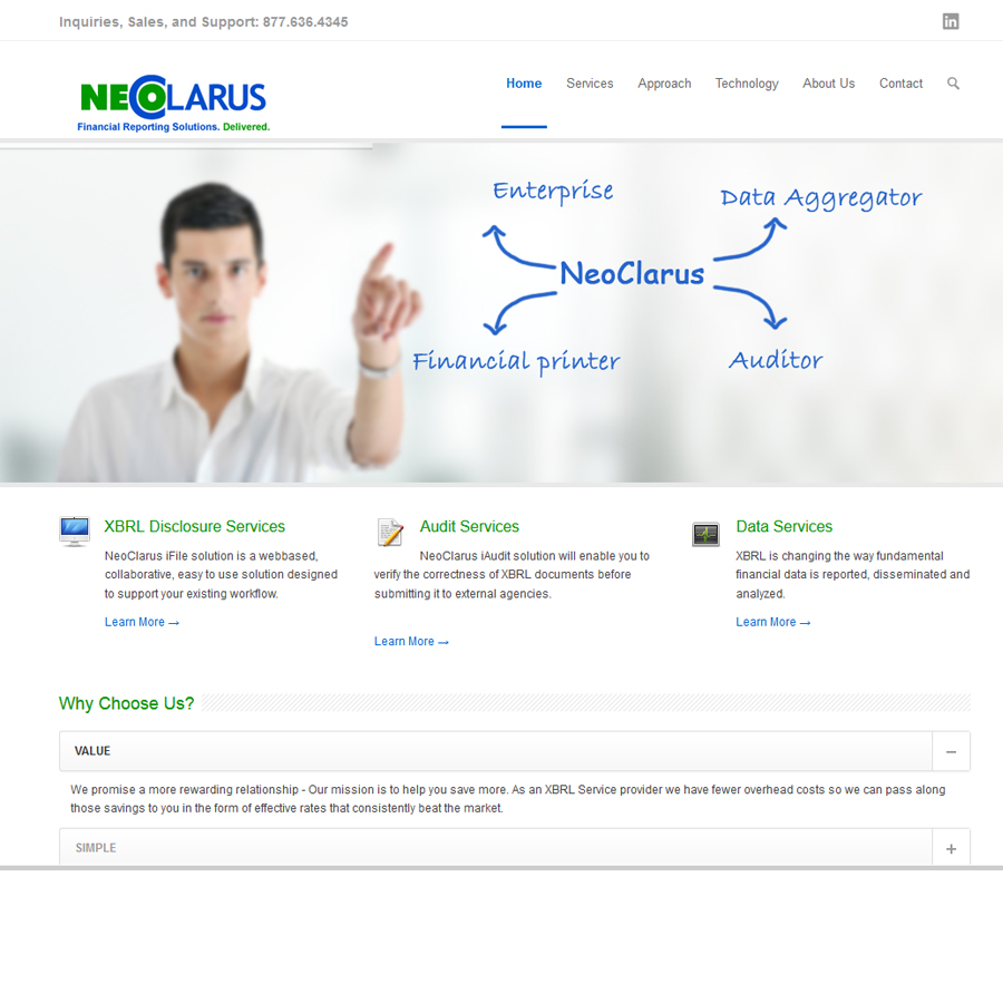Neoclarus Home page