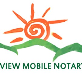Logo for Sunview Mobile Notary