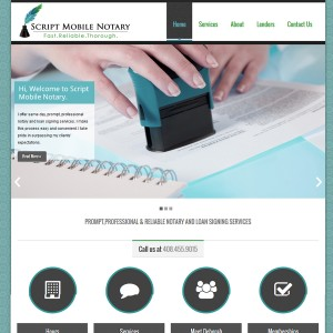 Notary Website