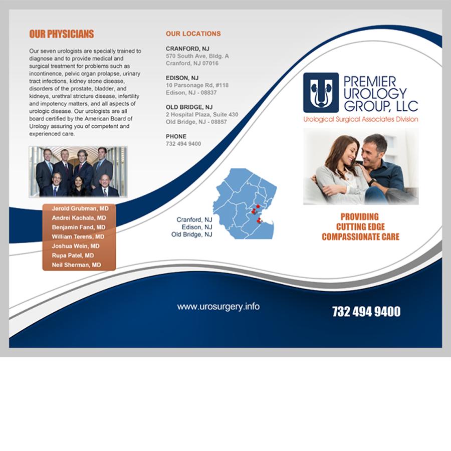 medical brochures design
