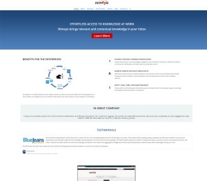 Corporate Website – Nimeyo