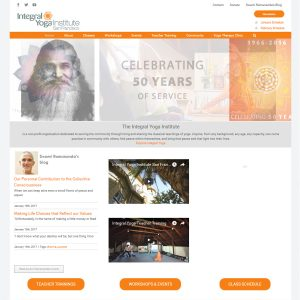 Yoga Organization Website