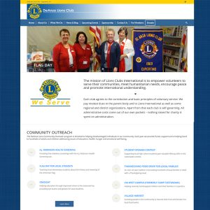 Cupertino Lions Website
