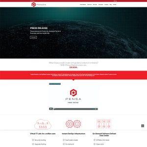 Tech Startup Website